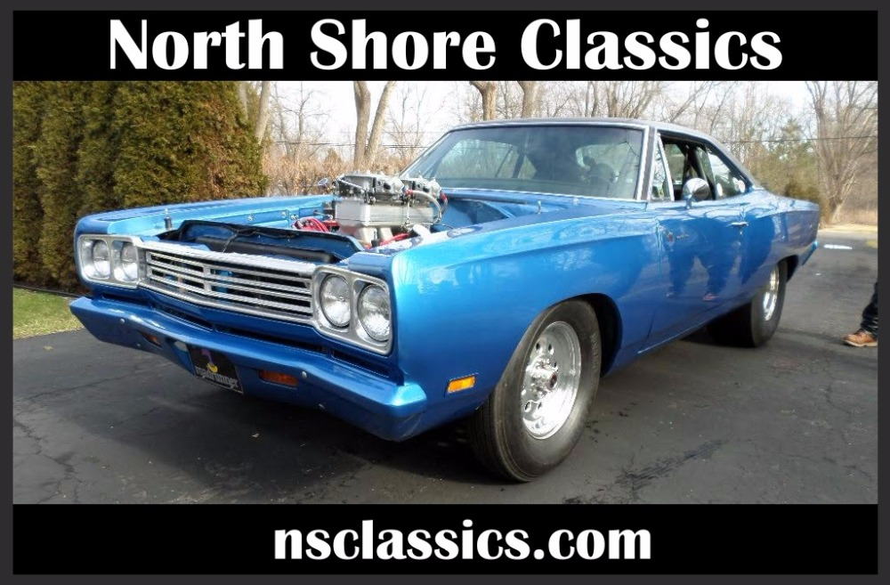 Photo 1969 Plymouth Road Runner -PRO STREET - NEW 600 HEMI- SEE VIDEO