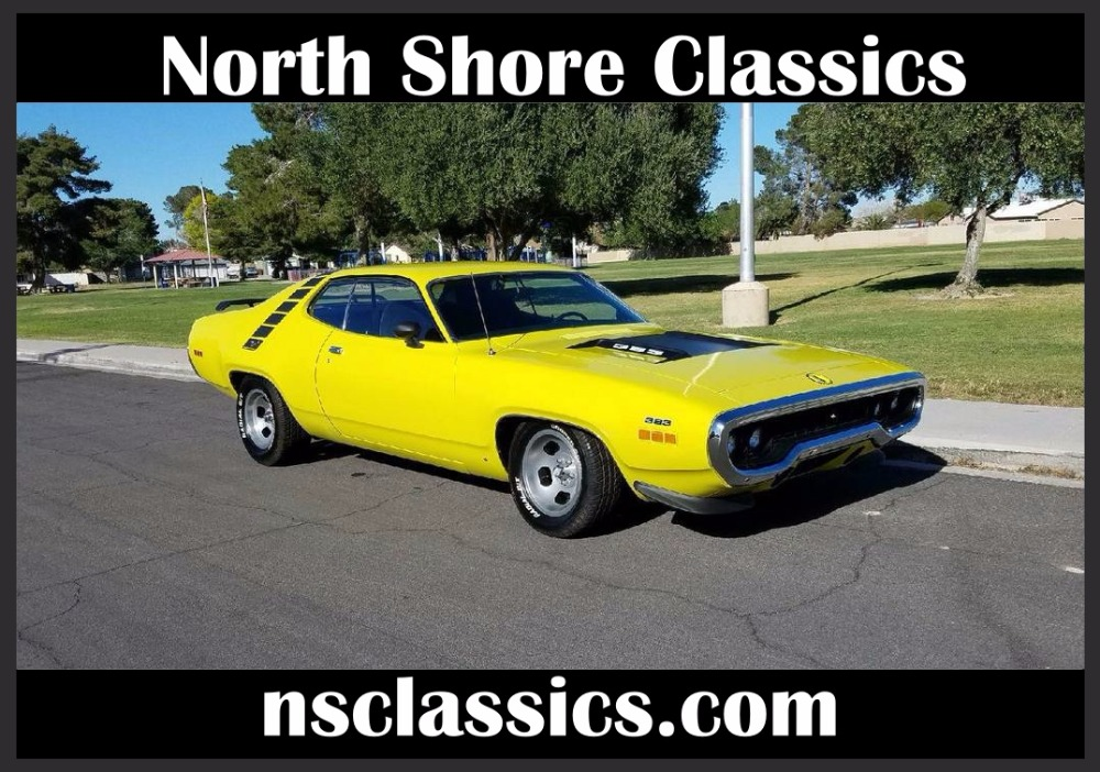 Photo 1971 Plymouth Road Runner -OLDER CLASSIC RESTORATION- 383 BORED 30 OVER-SWEET MOPAR-
