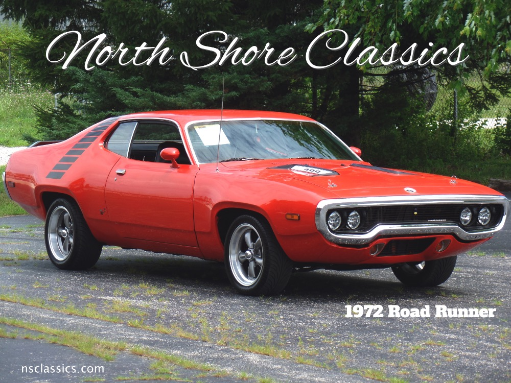 Photo 1972 Plymouth Road Runner -ORIGINAL RM CODE HEMI ORANGE-PRICED TO SELL-SEE VIDEO
