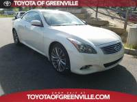 Pre-Owned 2012 INFINITI G37 Base Convertible in Greenville SC