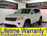 2018 Jeep Grand Cherokee LIMITED 4WD HEATED LEATHER SEATS REAR CAMERA REAR PARKING AID BL