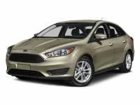 2015 Ford Focus S Sedan 4-Cylinder DGI DOHC