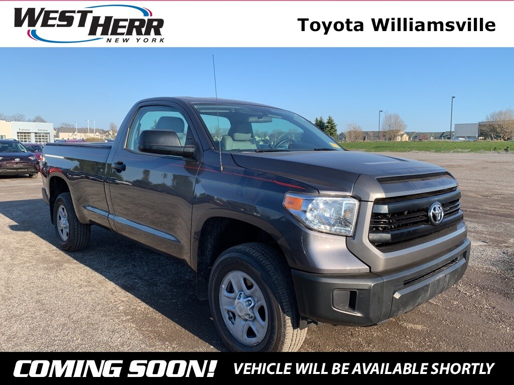 Photo 2014 Toyota Tundra SR Truck Regular Cab For Sale - Serving Amherst