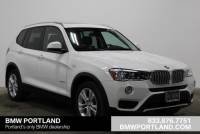 Certified Pre-Owned 2017 BMW X3 Xdrive35i Sports Activity Vehicle Sport Utility in Portland