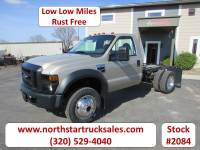 Used 2008 Ford F-450 4x4 Cab Chassis