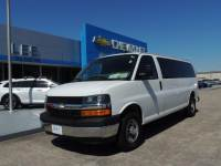 Pre-Owned 2017 Chevrolet Express Passenger 3500 Extended Wheelbase Rear-Wheel Drive 1LT VIN 1GAZGPFG8H1130798 Stock Number 7618P