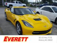 Certified Pre-Owned 2015 Chevrolet Corvette Stingray RWD Coupe