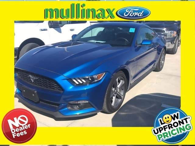 Photo Used 2017 Ford Mustang Ecoboost Premium W 18 Premium Wheels, Navigation, Coupe I-4 cyl in Kissimmee, FL