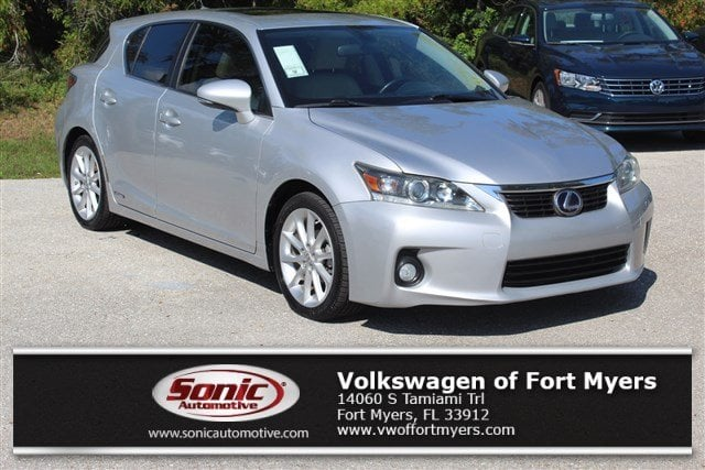 Photo Used 2011 LEXUS CT 200h FWD 4dr Hybrid FWD Hybrid in Fort Myers
