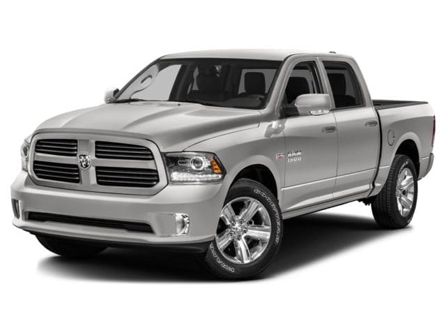 Photo Used 2017 Ram 1500 Tradesman W 20 Premium Wheels, Touch Screen, Blue Truck Crew Cab V-8 cyl in Kissimmee, FL