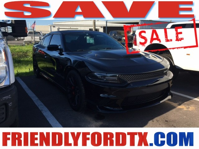 Photo Used 2016 Dodge Charger SRT Hellcat Sedan V8 Supercharged for Sale in Crosby near Houston