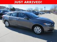 Used 2013 Ford Fusion S Sedan for Sale in Waterloo IA