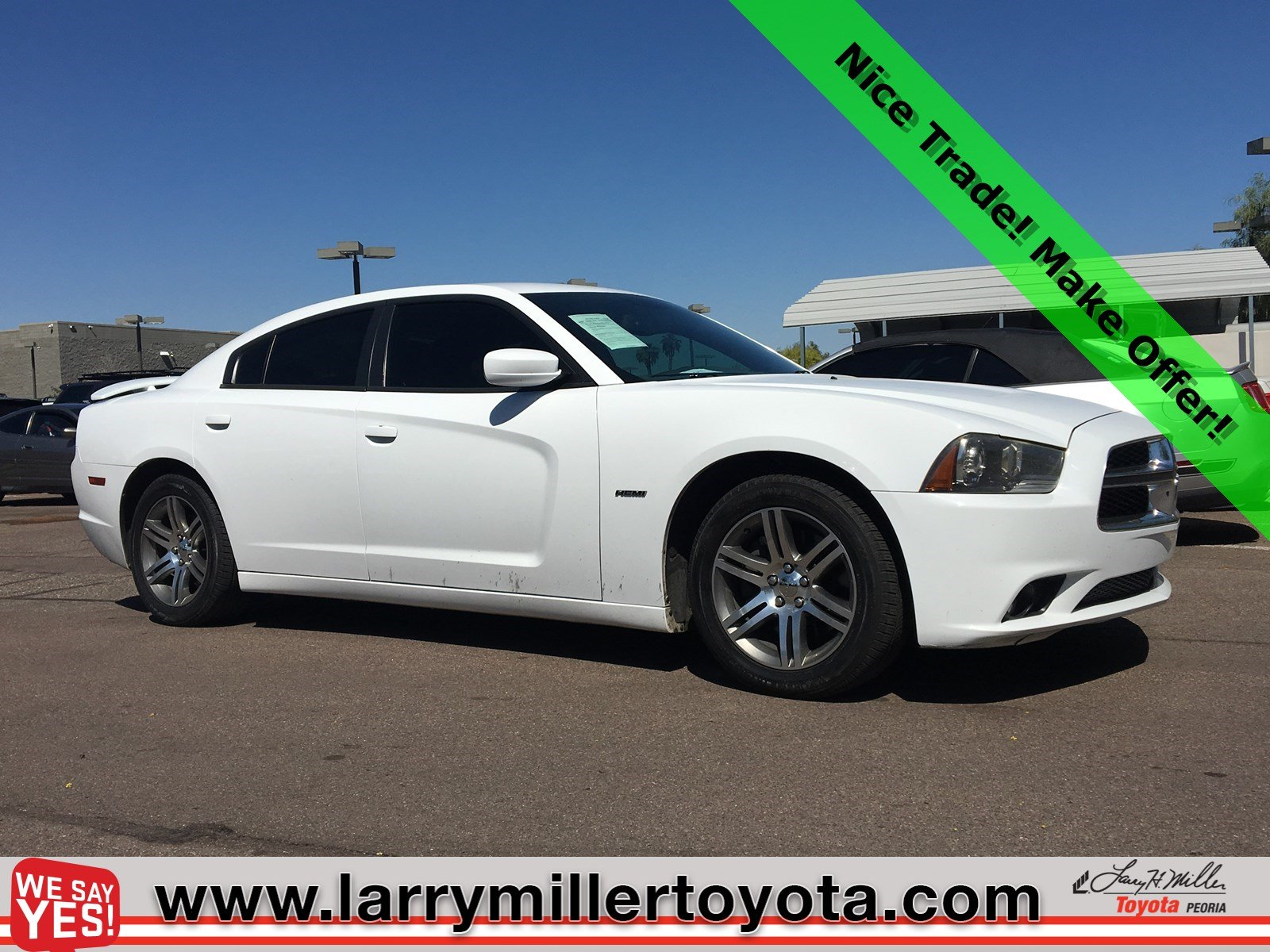 Photo Used 2014 Dodge Charger For Sale  Peoria AZ  Call 602-910-4763 on Stock 99140C