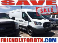 Used 2015 Ford Transit-150 Base Cargo Van EcoBoost V6 GTDi DOHC 24V Twin Turbocharged for Sale in Crosby near Houston
