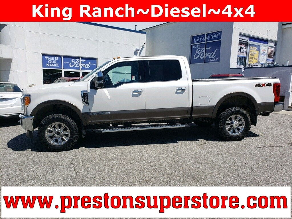 Photo Certified Used 2017 Ford F-250SD King Ranch Truck in Burton, OH