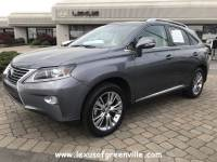 Pre-Owned 2014 LEXUS RX 350 FWD SUV in Greenville SC