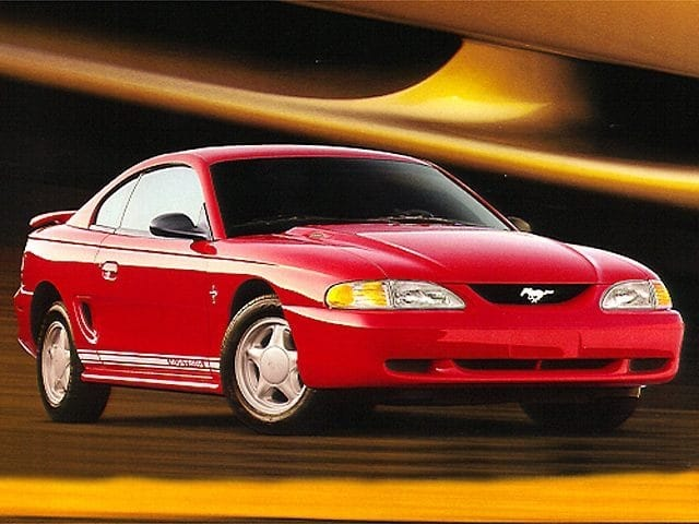 Photo 1998 Ford Mustang V6 Coupe