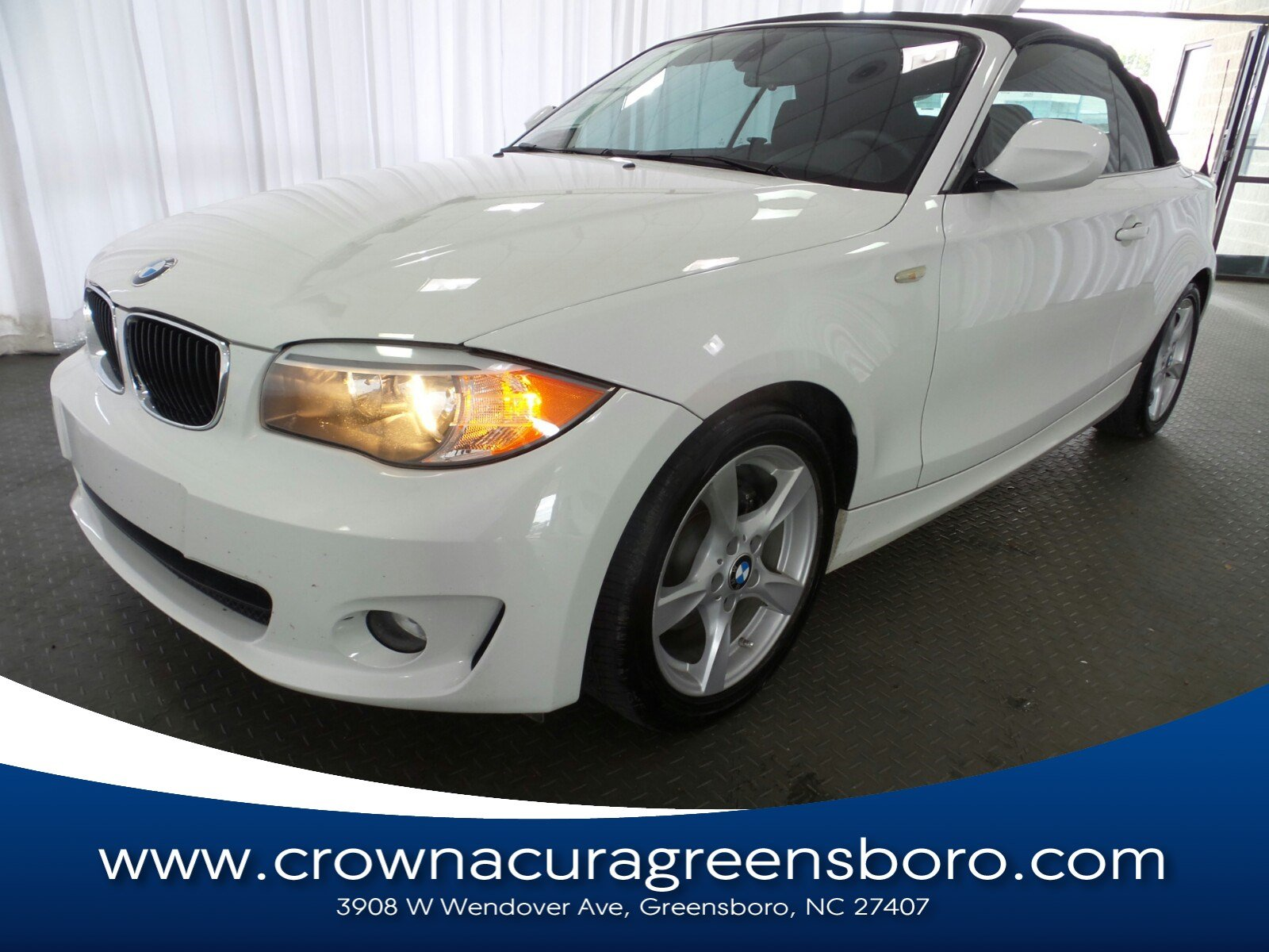 Photo Pre-Owned 2012 BMW 1 Series 128i in Greensboro NC