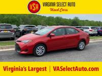 Used 2018 Toyota Corolla LE Sedan for sale in Amherst, VA