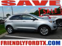 Used 2018 Ford Edge SEL SUV EcoBoost I4 GTDi DOHC Turbocharged VCT for Sale in Crosby near Houston