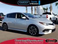 Certified 2017 Toyota Corolla iM Base Hatchback near Tampa FL