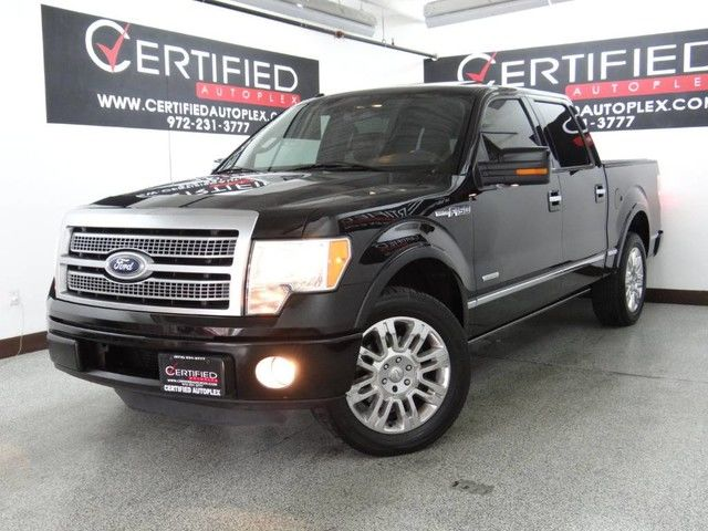 Photo 2011 Ford F-150 PLATINUM SUPER CREW ECOBOOST NAVIGATION SUNROOF REAR CAMERA REAR PARKING AI