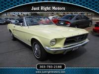 1968 Ford Mustang 2dr Conv