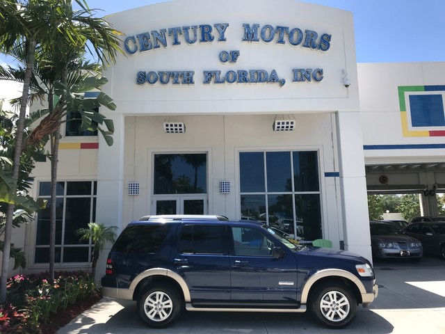 Photo 2006 Ford Explorer Eddie Bauer Leather Seats 3rd Row 7 Passenger NEW Tires