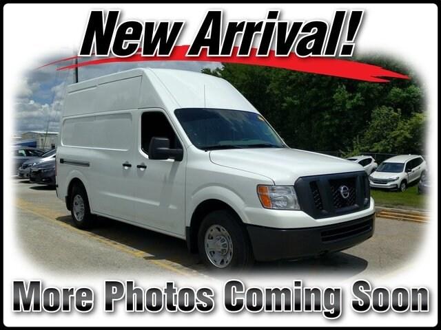 Photo Pre-Owned 2018 Nissan NV Cargo NV2500 HD SV V6 Van High Roof Cargo Van in Jacksonville FL
