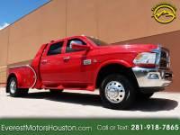 2012 Dodge Ram 3500 LARAMIE LONGHORN CREW CAB LWB DRW 4WD FLAT BED