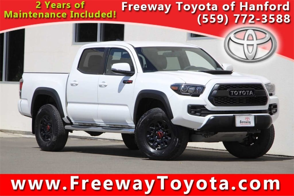 Photo 2017 Toyota Tacoma Truck Double Cab 4x4 - Used Car Dealer Serving Fresno, Central Valley, CA