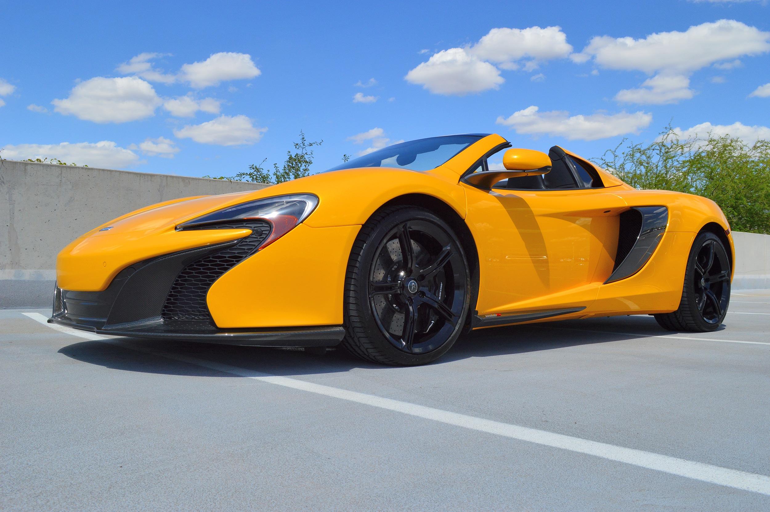 Photo Used 2015 McLaren 650S Spider Convertible For Sale Scottsdale, AZ
