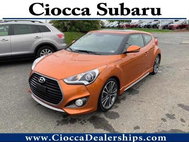 Photo Used 2016 Hyundai Veloster Turbo For Sale in Allentown, PA