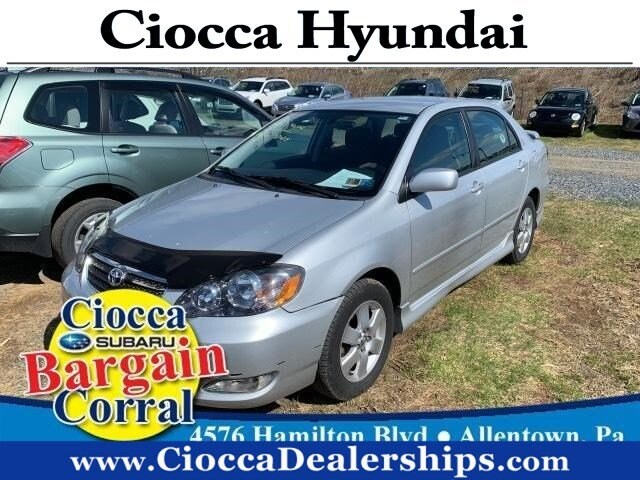 Photo Used 2007 Toyota Corolla S For Sale in Allentown, PA