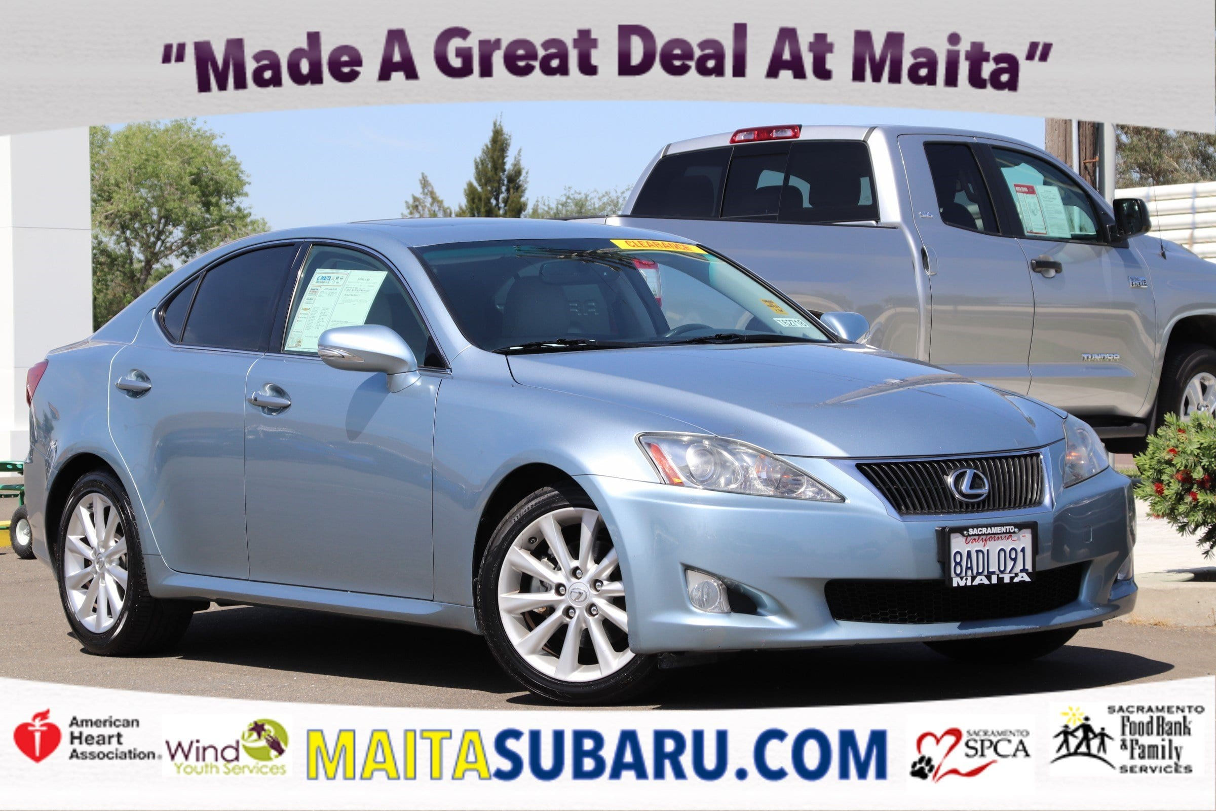 Photo Used 2010 LEXUS IS 250 250 Available in Sacramento CA