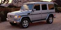 Pre-Owned 2003 Mercedes-Benz G 500 4WD