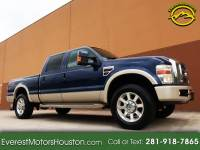 2008 Ford F-250 SD KING RANCH CREW CAB SHORT BED NAV DVD 4WD