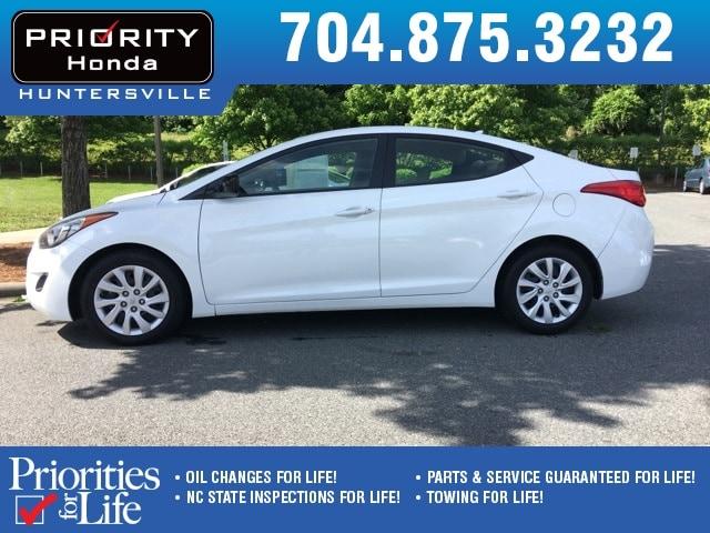 Photo Used 2013 Hyundai Elantra For Sale in Huntersville NC  Serving Charlotte, Concord NC  Cornelius. VIN 5NPDH4AE9DH230978