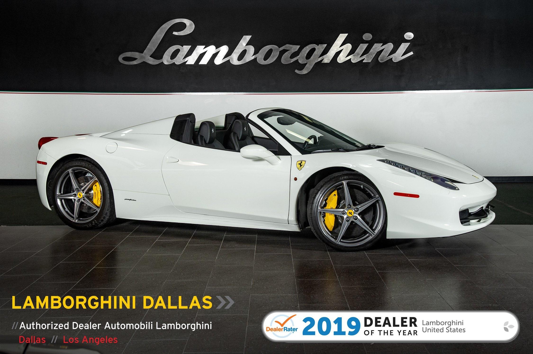 Photo Used 2014 Ferrari 458 Italia For Sale Richardson,TX  Stock L1182 VIN ZFF68NHA1E0199128