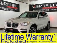 2019 BMW X3 SDRIVE30i X-LINE SPORT PKG NAVIGATION PANORAMIC ROOF REAR CAMERA PARK ASSIS