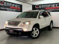 2007 GMC Acadia SLT-2 AWD PANORAMIC ROOF NAVIGATION HEADS UP DISPLAY REAR PARKING AID 2ND R