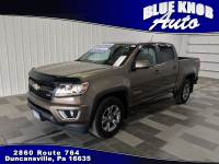 2016 Chevrolet Colorado Z71 Truck Crew Cab in Duncansville | Serving Altoona, Ebensburg, Huntingdon, and Hollidaysburg PA