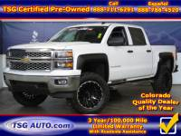 2014 Chevrolet Silverado 1500 LT CrewCab 4WD W/Custom Lift/Wheels/Tires