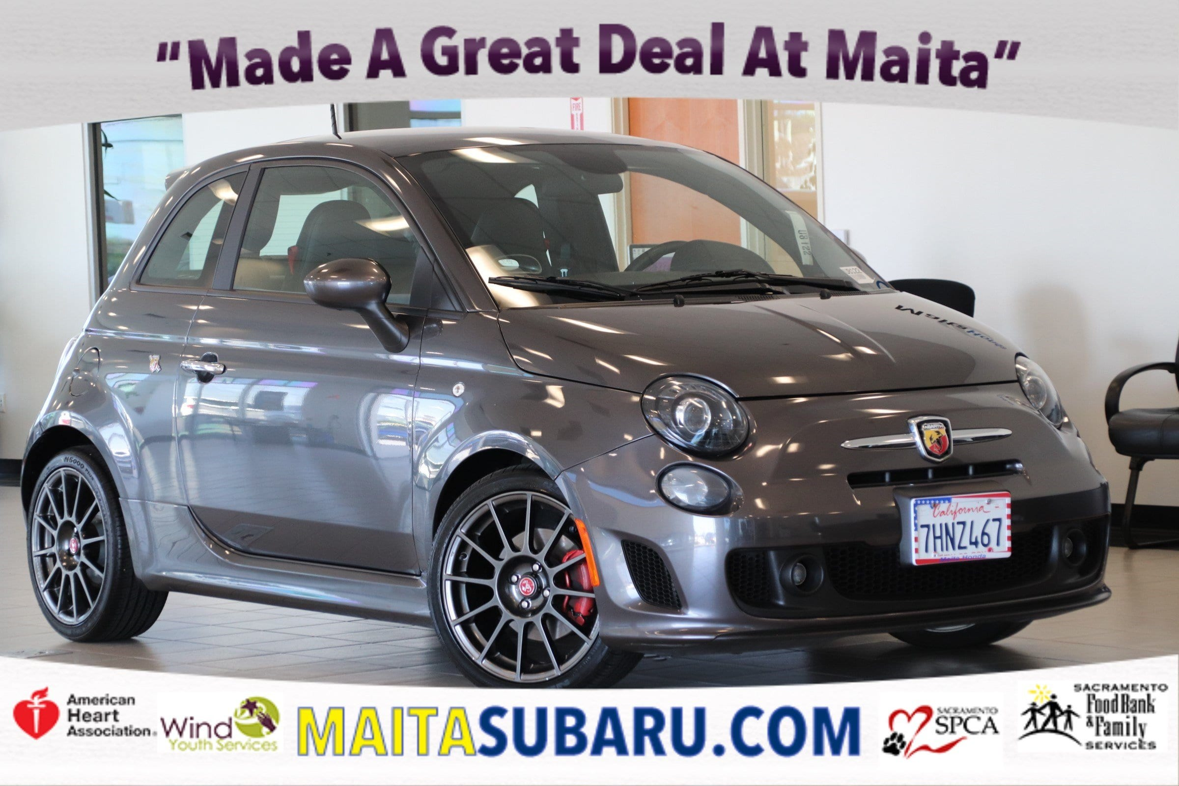 Photo Used 2015 FIAT 500 Abarth Available in Sacramento CA