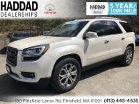 Certified Used 2014 GMC Acadia SLT-2 in Pittsfield MA