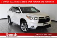 Certified Pre-Owned 2015 Toyota Highlander LTD FWD Sport Utility
