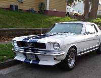 1966 Ford Mustang -RACING STRIPES 289 ENGINE-4 SPEED-
