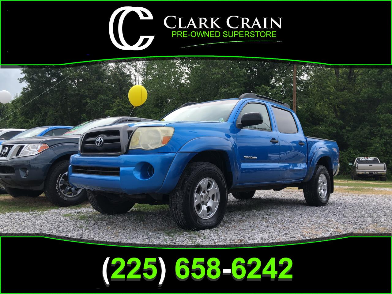 Photo 2005 Toyota Tacoma 2WD TRD Sport Double Cab 5 Bed V6 AT Natl