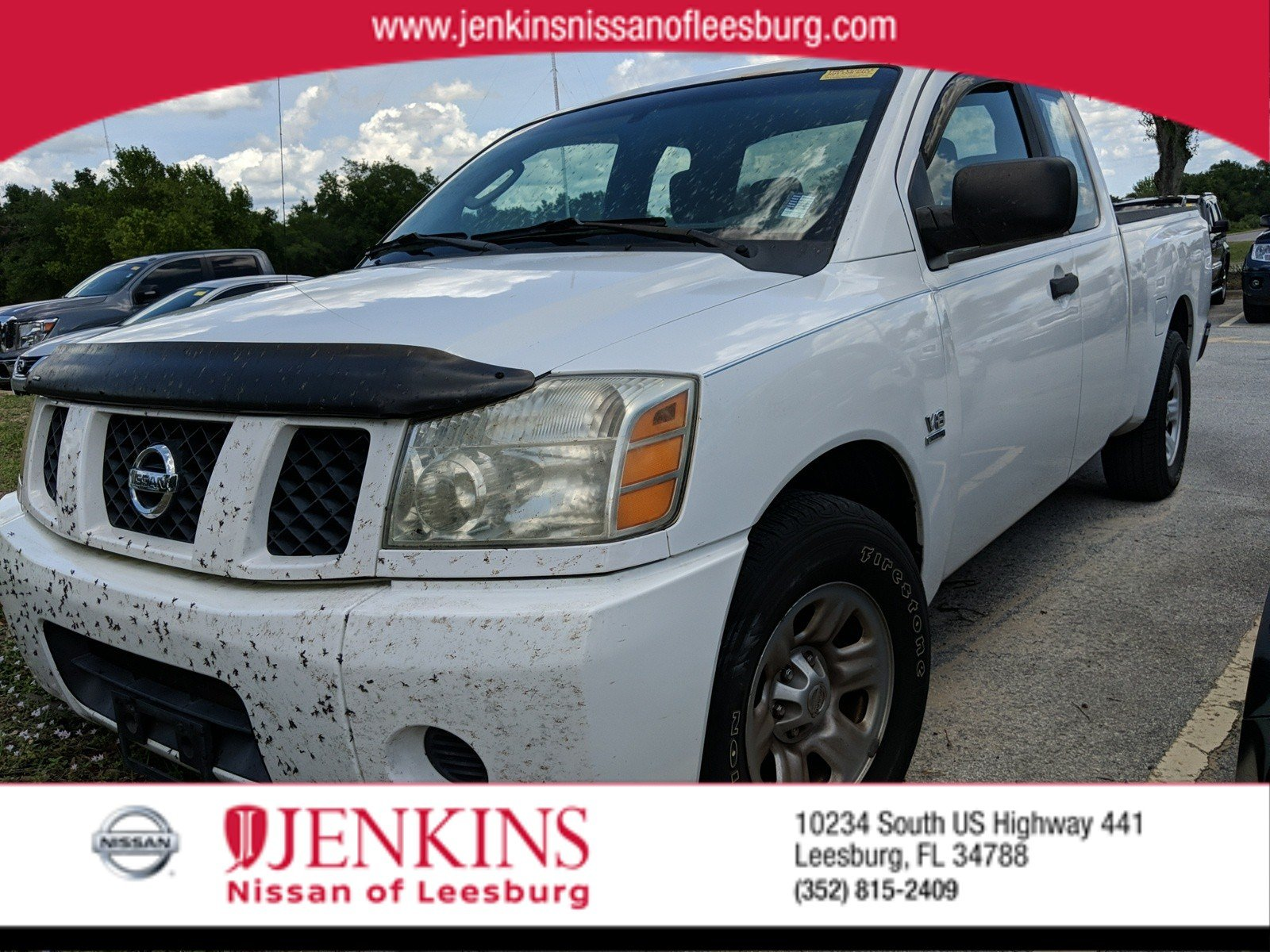 Photo Used 2004 Nissan Titan XE Truck King Cab For Sale Leesburg, FL