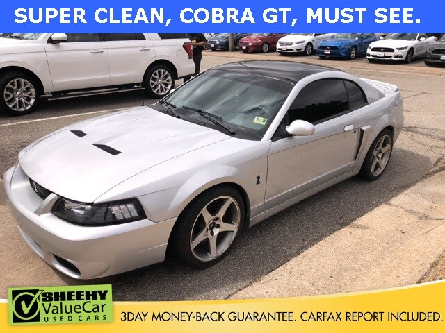 Photo Used 2003 Ford Mustang Cobra Coupe V-8 cyl for sale in Richmond, VA